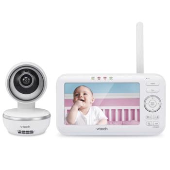 VTech Safe & Sound 5 inch Video Baby Monitor - VM5261