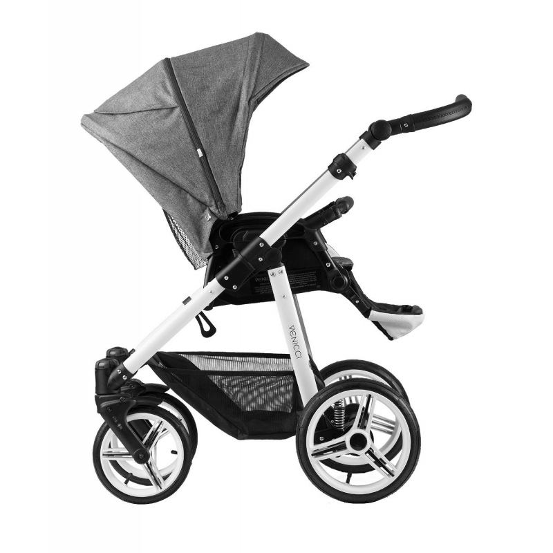 Venicci Pure 3 in 1 Travel System - Denim Grey 1