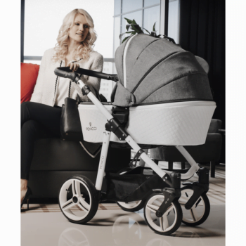 Venicci Pure 3 in 1 Travel System - Denim Grey 4