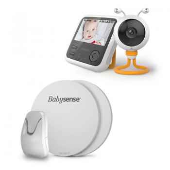 Wisenet SEW-3048WPCU & BabySense 7 Baby Breathing Movement Monitor (2)