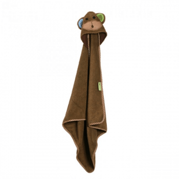 Zoocchini Baby Hooded Towels - Max the Monkey