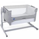 Chicco Next2Me Magic Side Sleeping Crib - Cool Grey
