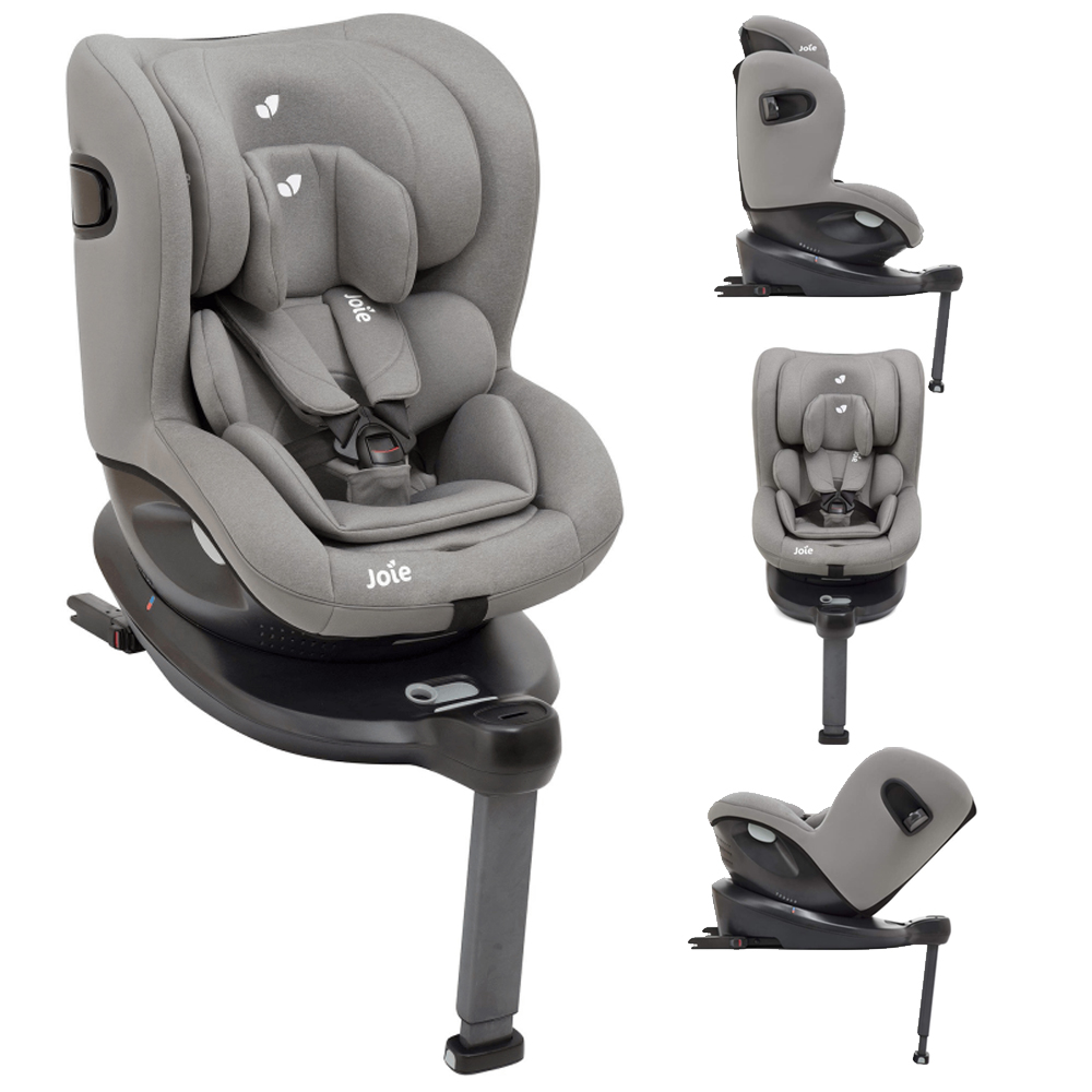 Joie i Spin i Size Car Seat Grey Flannel