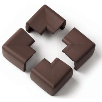 Clevamama X-Large Coco Corner Cushions - Brown