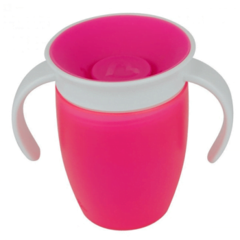 Munchkin Miracle 360 Trainer Cup (7oz/207ml) - Pink