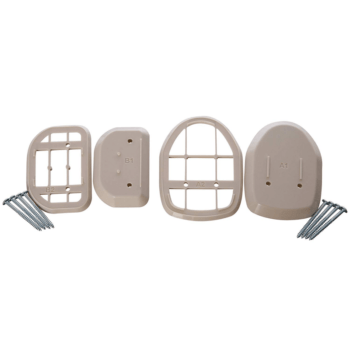 Dreambaby Retractable Gate Spacers - White 2