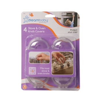 Dreambaby Oven Knob Covers - 4 Pack
