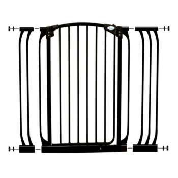 CHELSEA XTRA-TALL BLACK GATE & EXTENSION SET (1 GATE 2 EXTENSIONS) 2