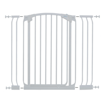 CHELSEA XTRA-TALL White GATE & EXTENSION SET (1 GATE 2 EXTENSIONS) 1