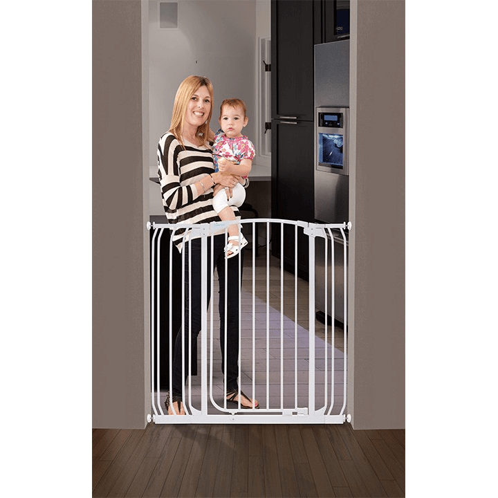 Dreambaby Chelsea Xtra Tall Gate Amp Extension Set 71 107cm