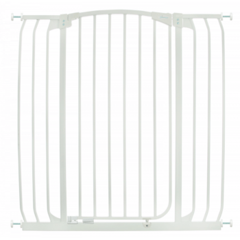 CHELSEA XTRA-TALL & XTRA- WIDE HALLWAY AUTO-CLOSE SECURITY GATE - WHITE 2