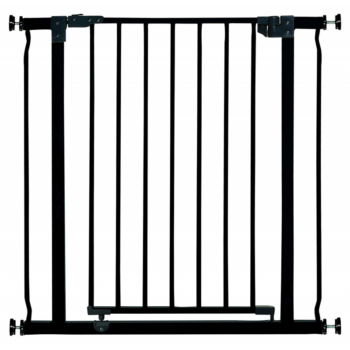 Dreambaby Liberty Extra Tall Hallway Safety Gate 75-82cm - Black 1