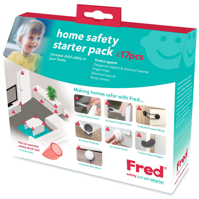 Fred 17 Piece Home Safety Starter Pack