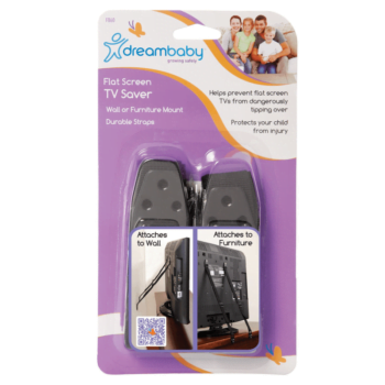 Dreambaby TV Screen Saver Straps - 2 Pack