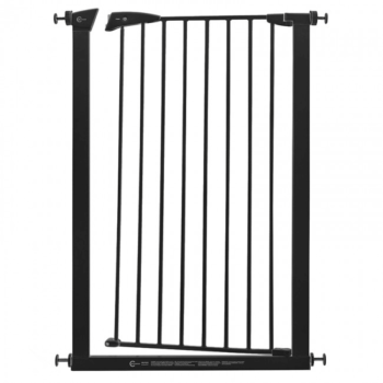 Callowesse Extra Tall Pet Gate Black 7