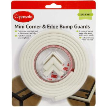 Clippasafe Mini Corner & Edge Bump Guards