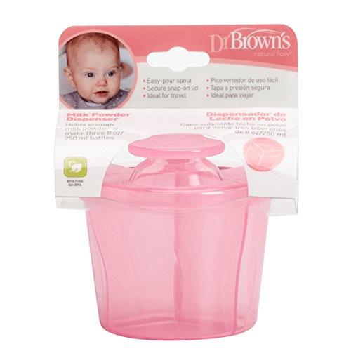 Dr Browns Milk Powder Dispenser - Pink