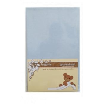 DK GloveSheet Chicco Next2Me Mattress Sheet - Blue