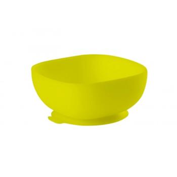 Beaba Silicone Suction Bowl - Neon Green
