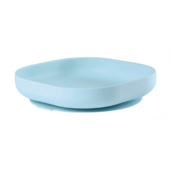 Beaba Suction Silicon Plate - Blue