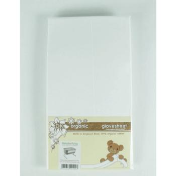 DK Glovesheet Chicco Next2Me Organic Mattress Sheets - White
