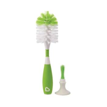 Munchkin Bristle Bottle Brush - Green
