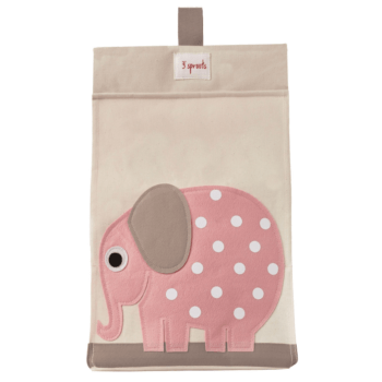 3 Sprouts Nappy Stacker - Elephant