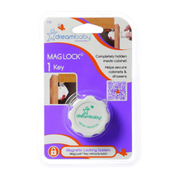 Dreambaby Magnetic Lock Key (1 Key) - White