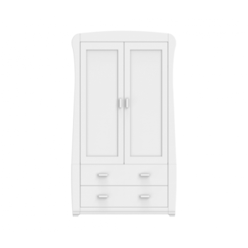 Babymore Bel Wardrobe – White
