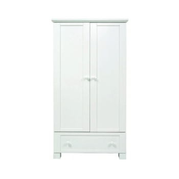 East Coast Montreal Double Wardrobe – White