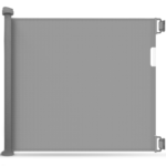 Callowesse© Air Retractable Stair Gate & Free Spacers 30-140cm - Grey