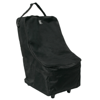 JL Childress Wheelie Car Seat Travel Bag – Black
