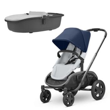Quinny Hubb Navy Grey Stroller