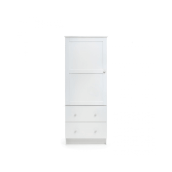 Obaby Single Wardrobe – White