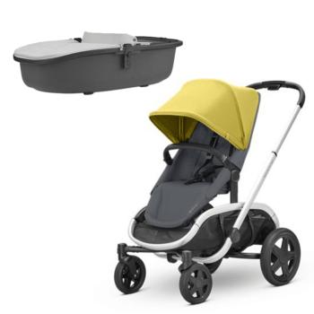 Quinny Hubb Stroller Ochre Grey