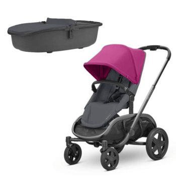 Quinny Hubb Stroller Pink Graphite