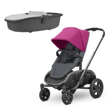 Quinny Stroller Hubb Pink