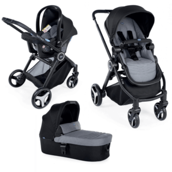 Chicco Trio Best Friend Travel System Stone