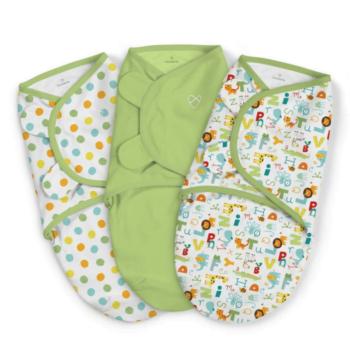 Summer Infant SwaddleMe 3 Pack - Small (ABC Alphabet)