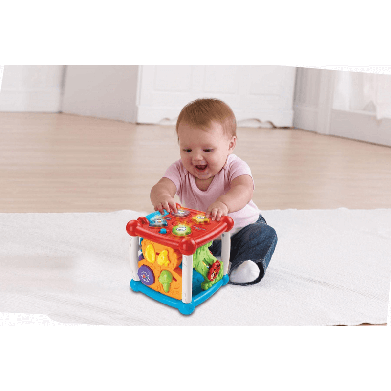 VTech Turn & Learn Cube | Educational Baby Toys | Olivers ...