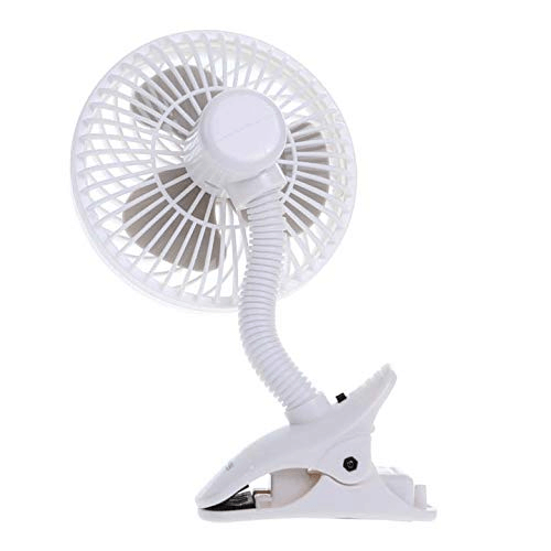 Dreambaby Deluxe Caged Stroller Fan - White 7