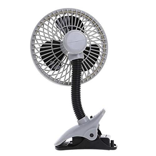 Dreambaby Deluxe Caged Stroller Fan - Black & Grey 5