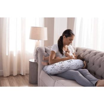 Boppy Nursing/Feeding Pillow with Cotton Slipcover - Hello Baby 11