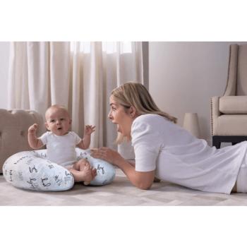 Boppy Nursing/Feeding Pillow with Cotton Slipcover - Hello Baby 2