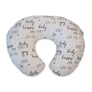 Boppy Nursing/Feeding Pillow with Cotton Slipcover - Hello Baby
