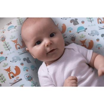 Boppy Nursing/Feeding Pillow with Cotton Slipcover - Modern Woodland 6
