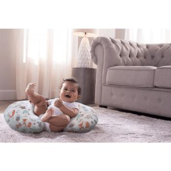 Boppy Nursing/Feeding Pillow with Cotton Slipcover - Modern Woodland 7