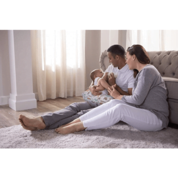 Boppy Nursing/Feeding Pillow with Cotton Slipcover - Modern Woodland 9