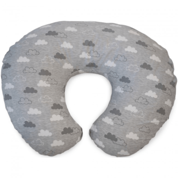 Boppy Nursing/Feeding Pillow with Cotton Slipcover - Clouds