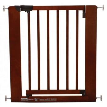 Dreambaby Barcelona Wooden Baby Gate - (73.5 - 81cm)